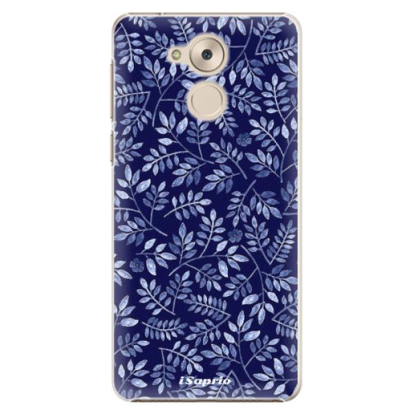 Plastové pouzdro iSaprio - Blue Leaves 05 - Huawei Nova Smart