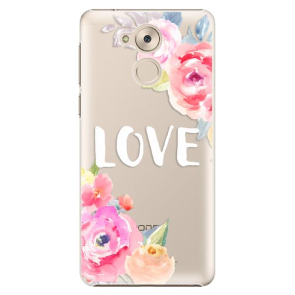 Plastové pouzdro iSaprio - Love - Huawei Nova Smart