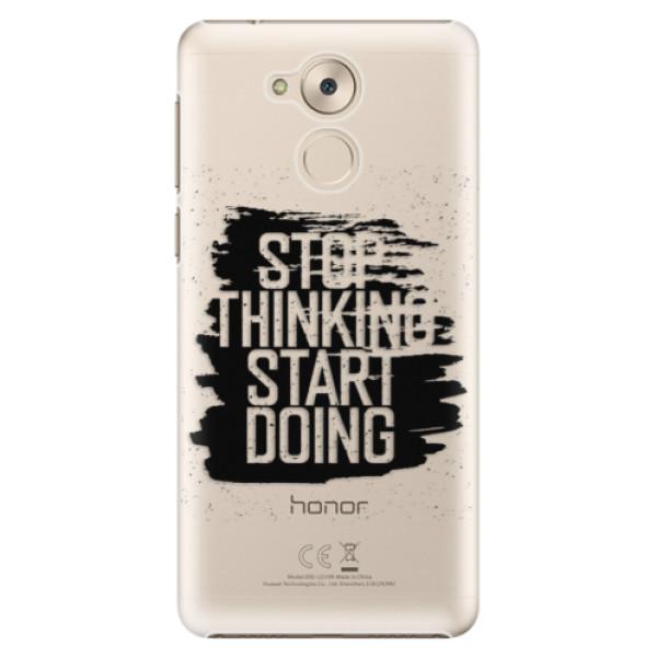 Plastové pouzdro iSaprio - Start Doing - black - Huawei Nova Smart