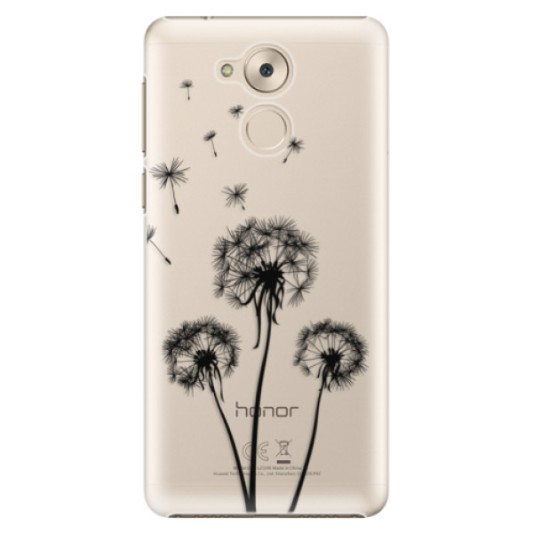 Plastové pouzdro iSaprio - Three Dandelions - black - Huawei Nova Smart