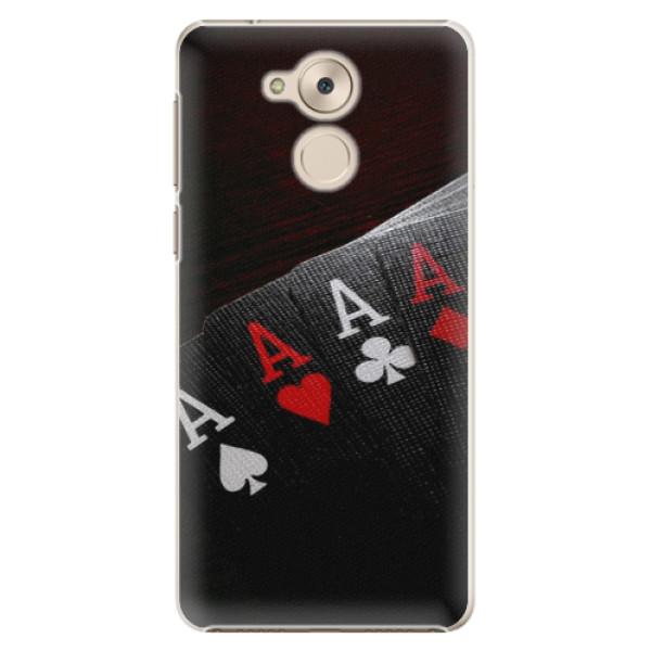 Plastové pouzdro iSaprio - Poker - Huawei Nova Smart