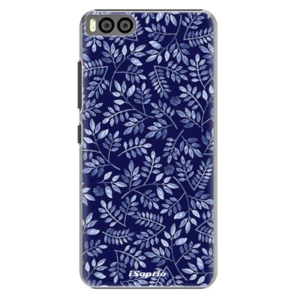Plastové pouzdro iSaprio - Blue Leaves 05 - Xiaomi Mi6