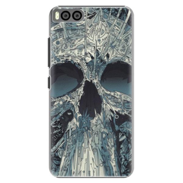 Plastové pouzdro iSaprio - Abstract Skull - Xiaomi Mi6