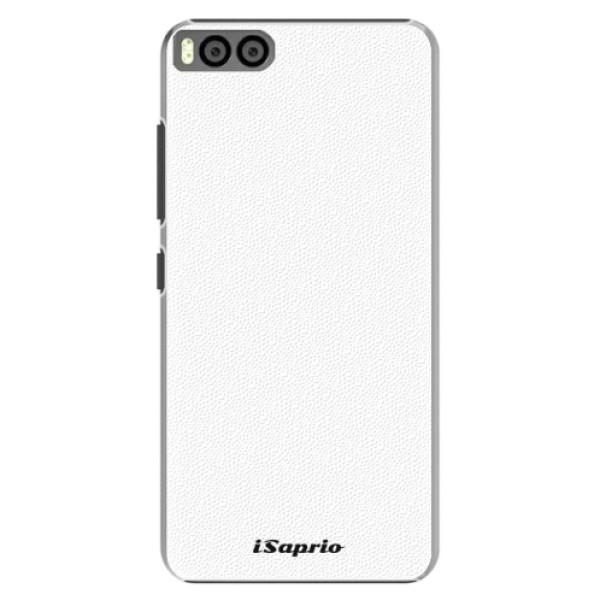 Plastové pouzdro iSaprio - 4Pure - bílý - Xiaomi Mi6