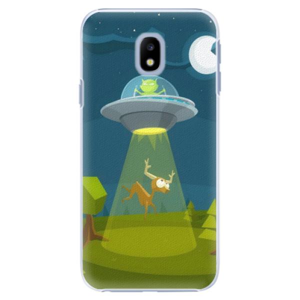 Plastové pouzdro iSaprio - Alien 01 - Samsung Galaxy J3 2017