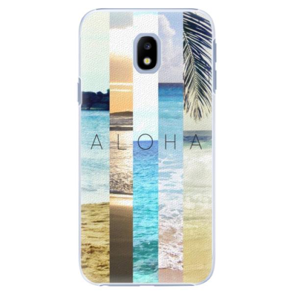 Plastové pouzdro iSaprio - Aloha 02 - Samsung Galaxy J3 2017