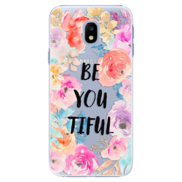 Plastové pouzdro iSaprio - BeYouTiful - Samsung Galaxy J3 2017