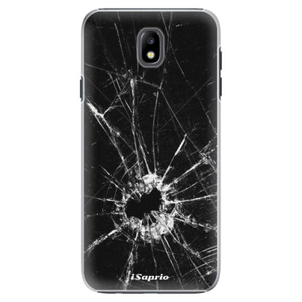 Plastové pouzdro iSaprio - Broken Glass 10 - Samsung Galaxy J7 2017