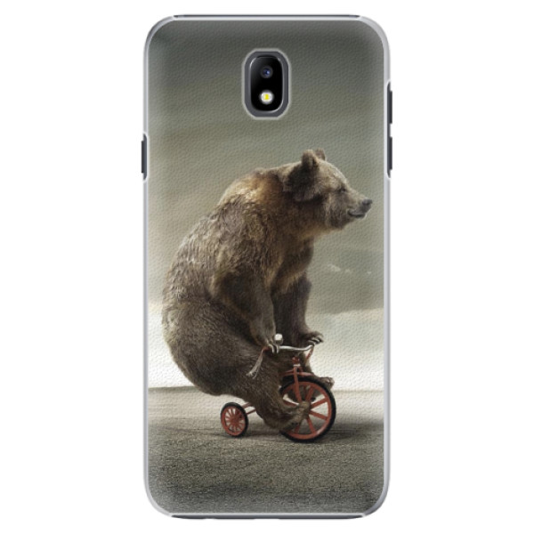 Plastové pouzdro iSaprio - Bear 01 - Samsung Galaxy J7 2017