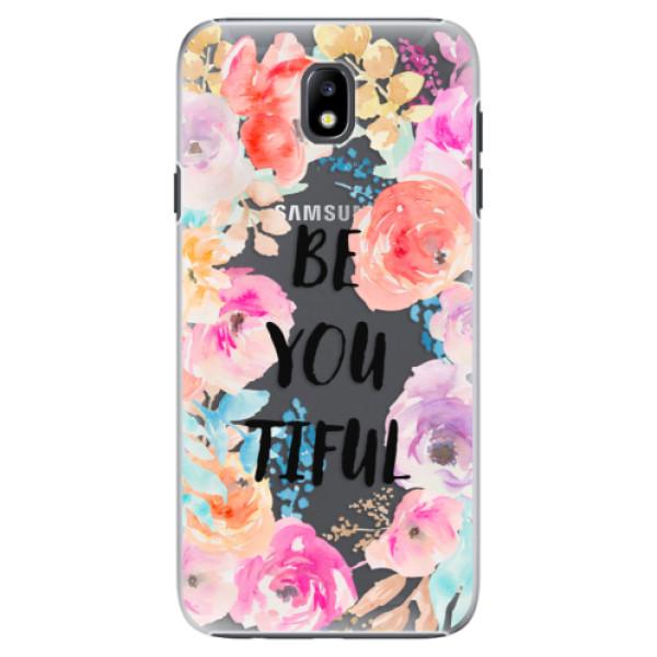 Plastové pouzdro iSaprio - BeYouTiful - Samsung Galaxy J7 2017
