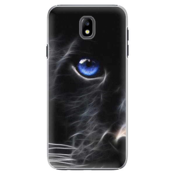 Plastové pouzdro iSaprio - Black Puma - Samsung Galaxy J7 2017