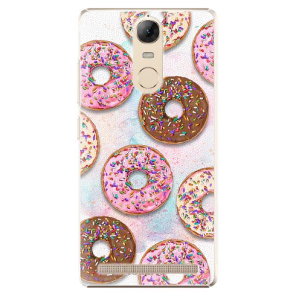 Plastové pouzdro iSaprio - Donuts 11 - Lenovo K5 Note