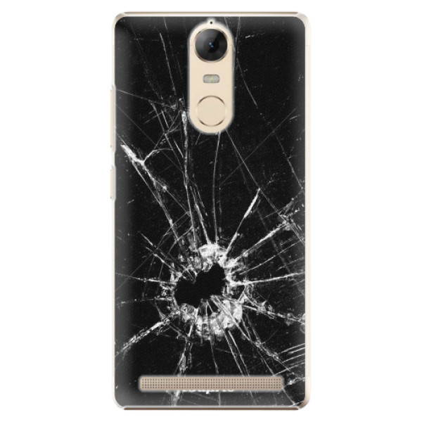 Plastové pouzdro iSaprio - Broken Glass 10 - Lenovo K5 Note