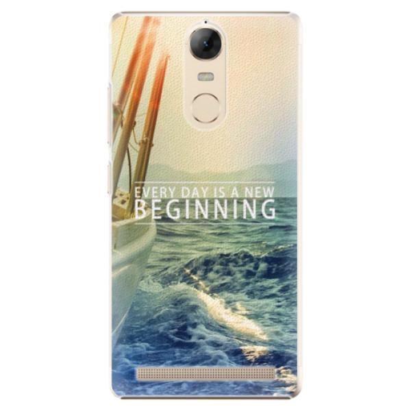 Plastové pouzdro iSaprio - Beginning - Lenovo K5 Note
