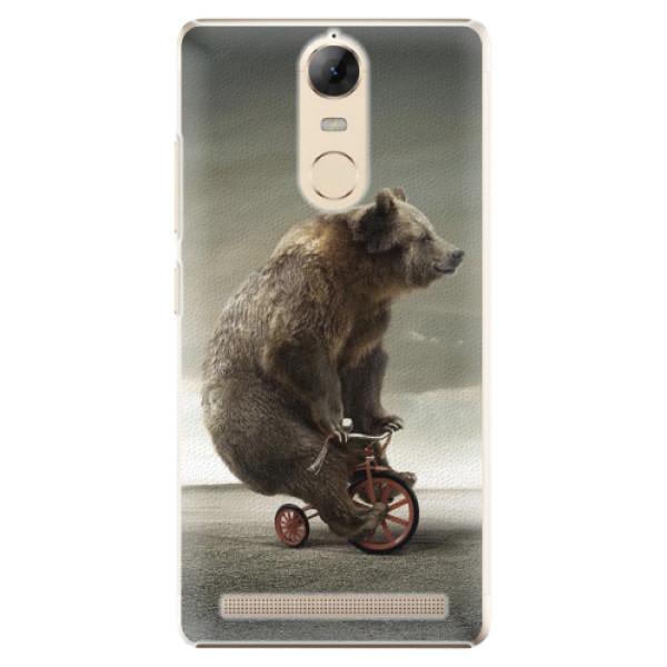 Plastové pouzdro iSaprio - Bear 01 - Lenovo K5 Note