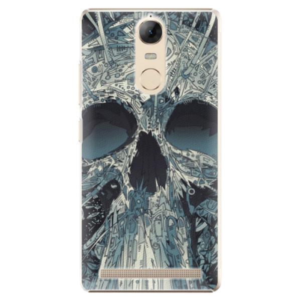 Plastové pouzdro iSaprio - Abstract Skull - Lenovo K5 Note