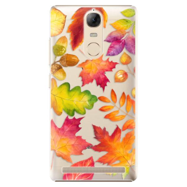Plastové pouzdro iSaprio - Autumn Leaves 01 - Lenovo K5 Note