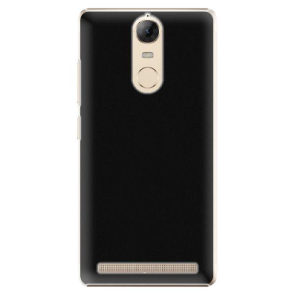Plastové pouzdro iSaprio - 4Pure - černý - Lenovo K5 Note