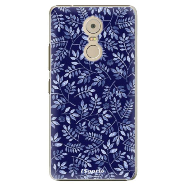 Plastové pouzdro iSaprio - Blue Leaves 05 - Lenovo K6 Note