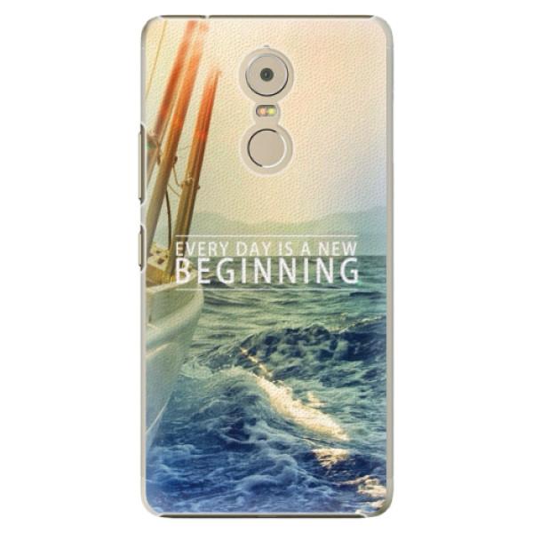 Plastové pouzdro iSaprio - Beginning - Lenovo K6 Note