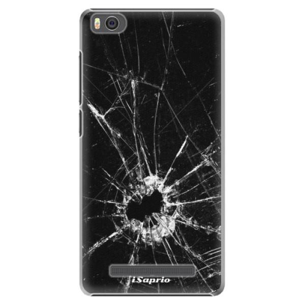 Plastové pouzdro iSaprio - Broken Glass 10 - Xiaomi Mi4C