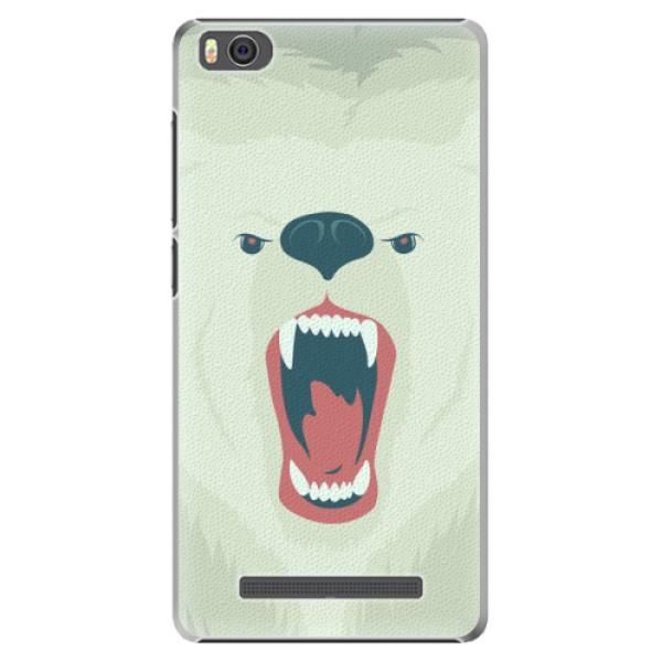 Plastové pouzdro iSaprio - Angry Bear - Xiaomi Mi4C