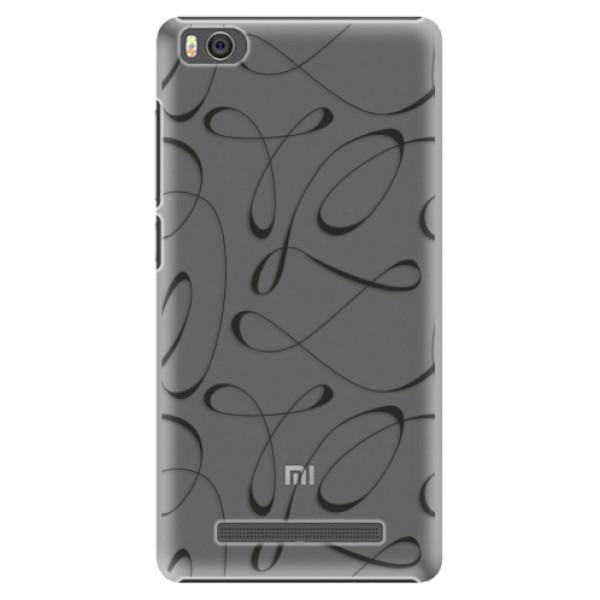 Plastové pouzdro iSaprio - Fancy - black - Xiaomi Mi4C
