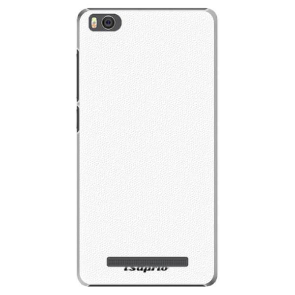 Plastové pouzdro iSaprio - 4Pure - bílý - Xiaomi Mi4C