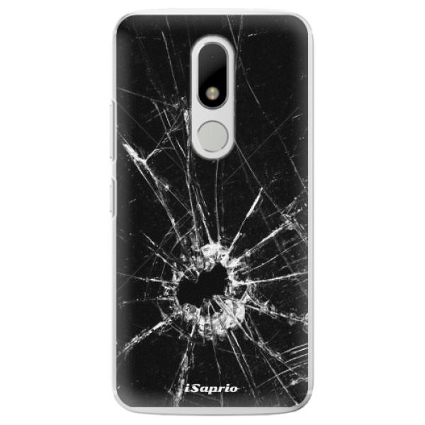 Plastové pouzdro iSaprio - Broken Glass 10 - Lenovo Moto M