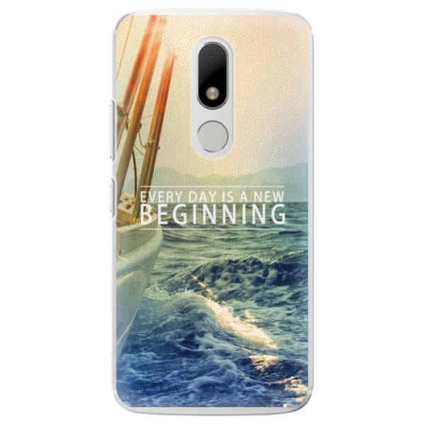 Plastové pouzdro iSaprio - Beginning - Lenovo Moto M