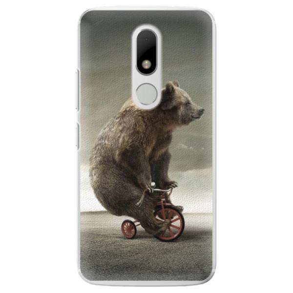 Plastové pouzdro iSaprio - Bear 01 - Lenovo Moto M