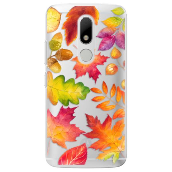 Plastové pouzdro iSaprio - Autumn Leaves 01 - Lenovo Moto M