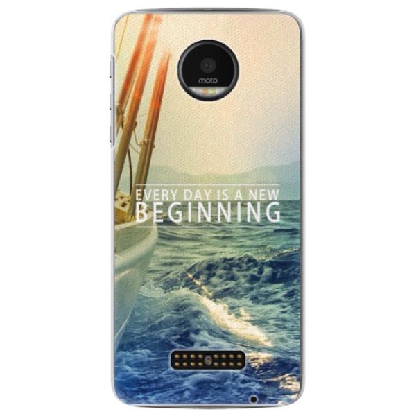 Plastové pouzdro iSaprio - Beginning - Lenovo Moto Z