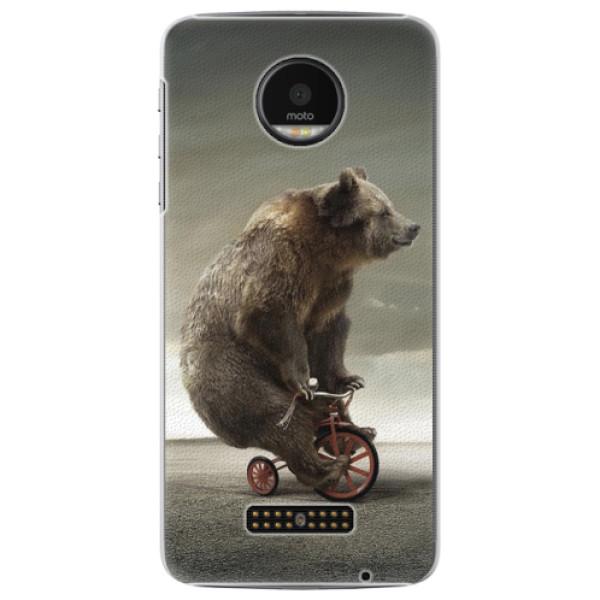Plastové pouzdro iSaprio - Bear 01 - Lenovo Moto Z