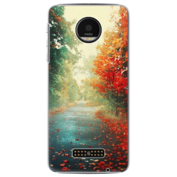 Plastové pouzdro iSaprio - Autumn 03 - Lenovo Moto Z