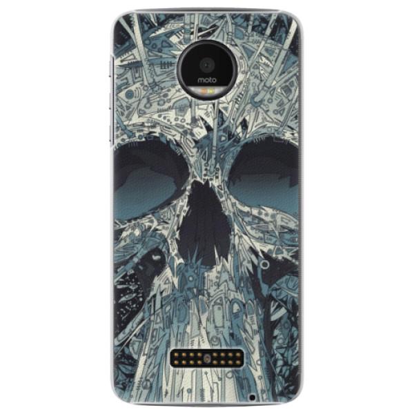Plastové pouzdro iSaprio - Abstract Skull - Lenovo Moto Z