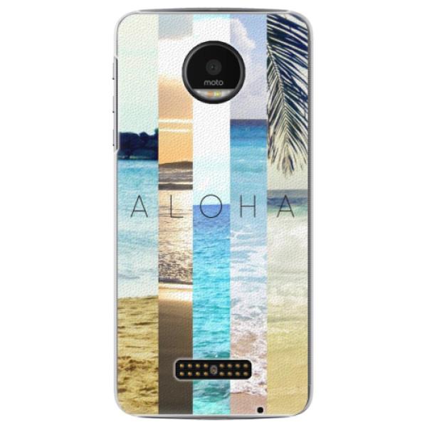Plastové pouzdro iSaprio - Aloha 02 - Lenovo Moto Z
