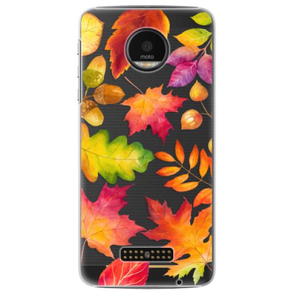 Plastové pouzdro iSaprio - Autumn Leaves 01 - Lenovo Moto Z