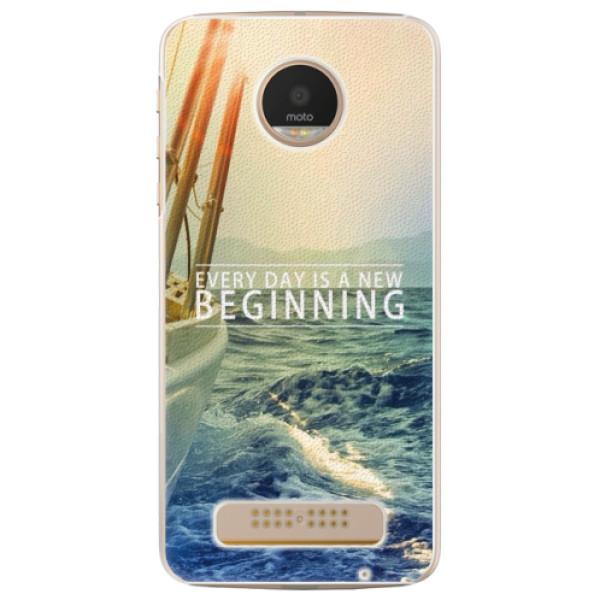Plastové pouzdro iSaprio - Beginning - Lenovo Moto Z Play