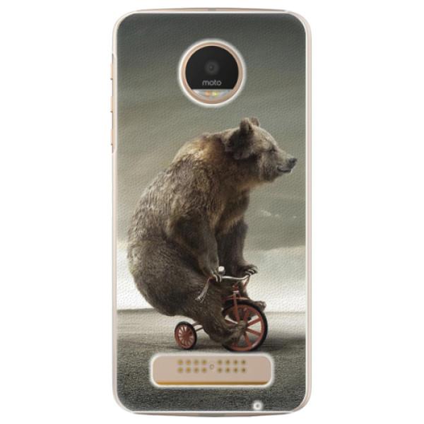 Plastové pouzdro iSaprio - Bear 01 - Lenovo Moto Z Play