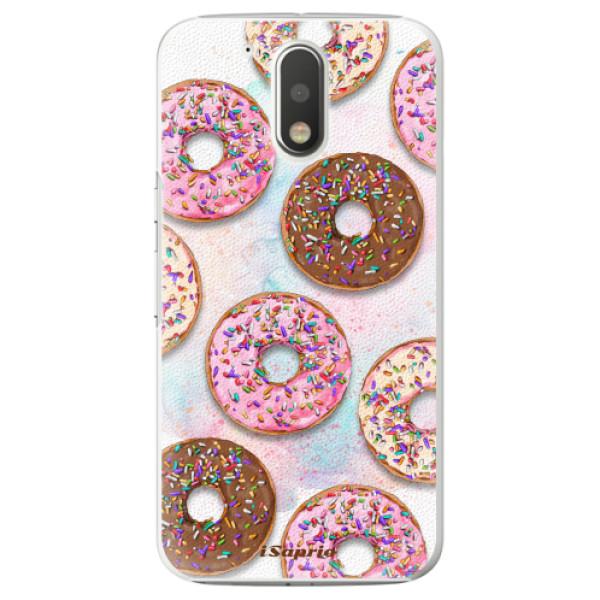 Plastové pouzdro iSaprio - Donuts 11 - Lenovo Moto G4 / G4 Plus