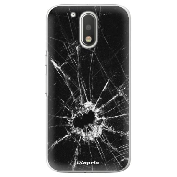 Plastové pouzdro iSaprio - Broken Glass 10 - Lenovo Moto G4 / G4 Plus
