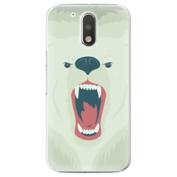 Plastové pouzdro iSaprio - Angry Bear - Lenovo Moto G4 / G4 Plus