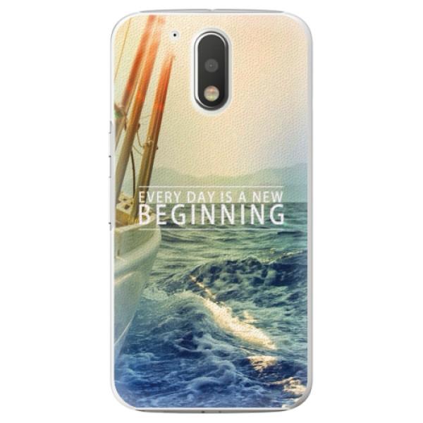 Plastové pouzdro iSaprio - Beginning - Lenovo Moto G4 / G4 Plus