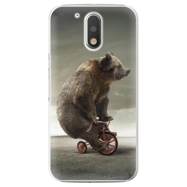 Plastové pouzdro iSaprio - Bear 01 - Lenovo Moto G4 / G4 Plus
