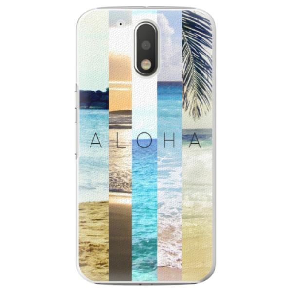 Plastové pouzdro iSaprio - Aloha 02 - Lenovo Moto G4 / G4 Plus