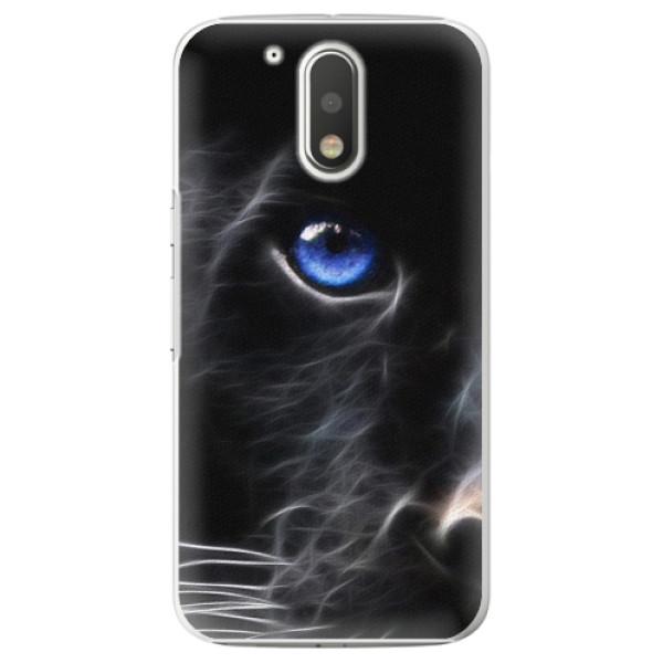 Plastové pouzdro iSaprio - Black Puma - Lenovo Moto G4 / G4 Plus