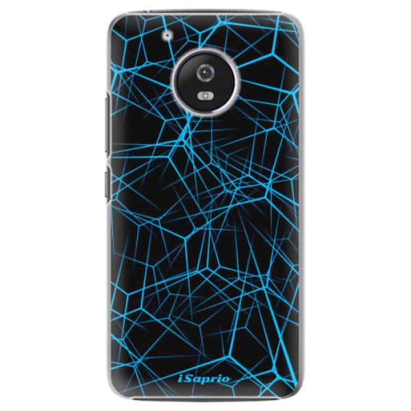 Plastové pouzdro iSaprio - Abstract Outlines 12 - Lenovo Moto G5