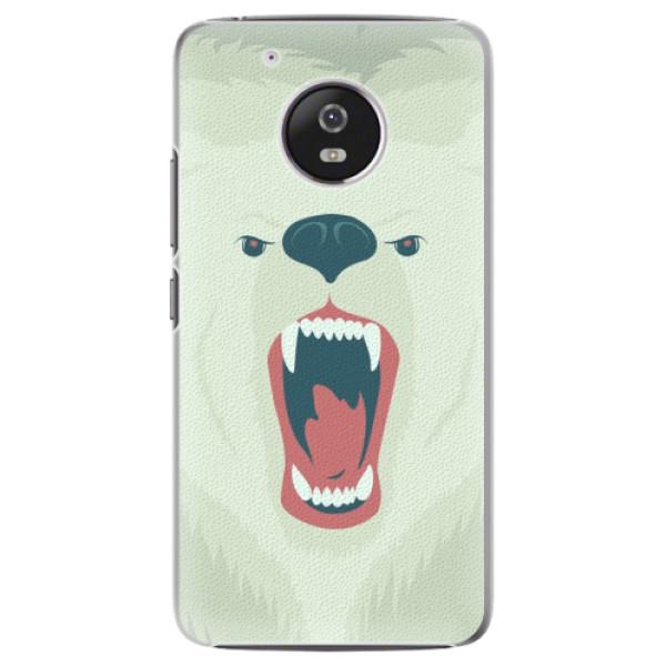Plastové pouzdro iSaprio - Angry Bear - Lenovo Moto G5