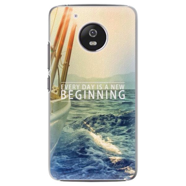 Plastové pouzdro iSaprio - Beginning - Lenovo Moto G5